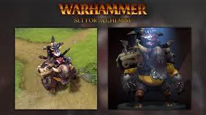artstation alchemist set for warhammer event dota 2