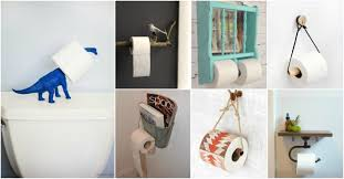 diy toilet paper holders that will amaze you with the unusual design