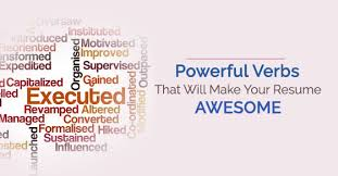 Resume Verbs Mesmerizing 28 Powerful Verbs That Will Make Your Resume Awesome WiseStep