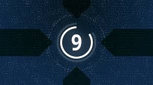 Modern Countdown Timer For Video Intro Motion Background
