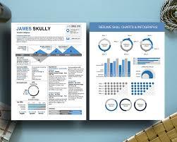 Infographic Resume Skills Chart Infographic Milennial Resumes