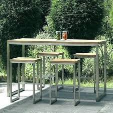bistro table height outdoor bistro table set bar height bar height outdoor bistro set outdoor bar