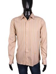 Givenchy Men S Size Chart Details About Givenchy Mens Shirt Regular Fit Cotton Stripes Size Xl