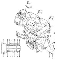 1995 arctic cat zr 580 efi 95zrb oem parts babbitts arctic cat crankcase assembly
