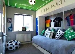Fascinating Soccer Bedroom Decor And For Inspirations Pictures ~ Owevs