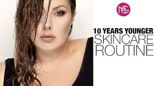 10 years younger skin routine makeup geek
