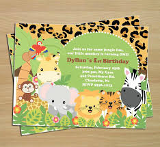 Jungle Theme Birthday Invitations 17 Animal Themed Invitation Designs Templates Psd Ai