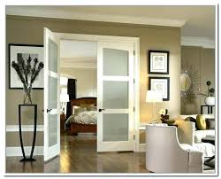 interior french doors with frosted glass for and door home depot