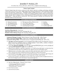 attorney resume sample template