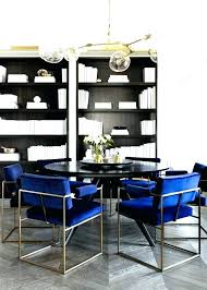 awesome blue upholstered dining room