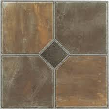 tivoli rustic slate 12x12 self adhesive vinyl floor tile 45 tiles 45 sq