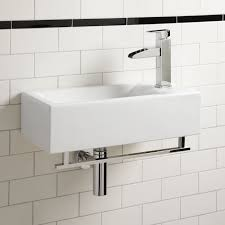 15 bathroom sink statue of small wall mounted sink a good choice for space intended mount
