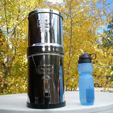 berkey water filter canada presents the travel berkeya stainless steel portable water purification system filter e65 portable