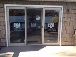 likeable 3 panel sliding door on brilliant patio doors andersen