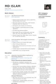 Lab Technician Resume Samples Visualcv Resume Samples Database