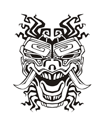Small Picture Free coloring page coloring adult mask inspiration inca mayan
