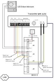 wiring diagram for intercom system wiring image aiphone intercom wiring diagram and installation guide on wiring diagram for intercom system