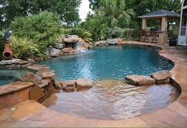 Natural Free Form Swimming Pools Design 149 Custom Outdoors