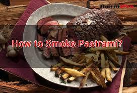 how to smoke pastrami thermopro