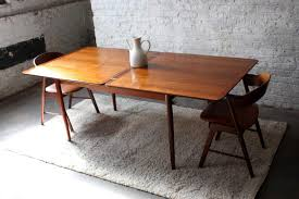 mid century expandable dining table. Dining Room: Mid Century Modern Expandable Table Ideas G