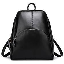 elombr womens backpack leather shoulder
