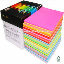 Supply All Kinds Of A4 Size Color Copy Paper View Color Paper
