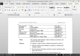 policy templates why buy word policies and procedures templates