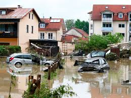 destro cars stand submerged in water following floods in the bavarian village of simbach am inn east of munich germany june 2 2016