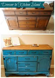diy kitchen island from dresser. Full Size Of Kitchen:elegant Diy Kitchen Island From Dresser Glamorous To Tutorial Blue Upcycle Large