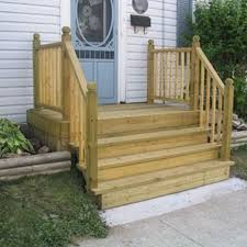 having a simple entrance to your mobile home can be a great way to add a nice look to the front of your home