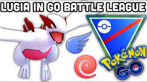 Shiny Lugia in GO Battle League +Aeroblast talk in Pokemon GO