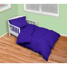 4 piece reflex blue twin toddler bed set