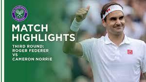 Roger Federer vs Cameron Norrie
