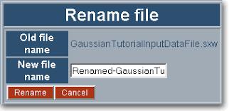 PSNC:PROGRESS:Gaussian Portlet Tutorial