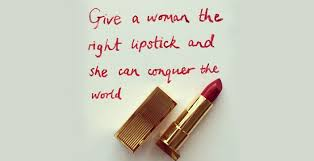 Lipstick Quotes Best The Power Of Red Lipstick