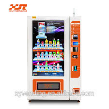 Robot Vending Machine Beauteous New Model 48 Inches Large Touch Screen Vending Machine With Robot