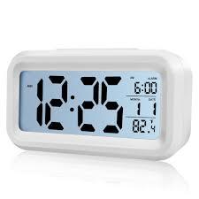 digital alarm clock battery operated alarm clocks bedside