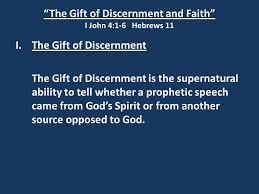 5 the gift of discernment