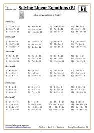 fun algebra worksheets 20 best fun maths worksheets images on ...