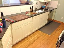 cutting board countertop materials home solutions kitchen gallery
