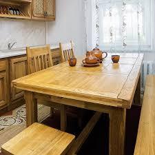 Massivholz Esstisch Im Landhausstil Holztisch Ausziehbar Ebay