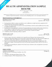 Business Administration Resume Samples Fresh Contract Administration