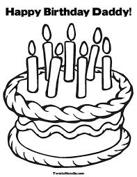 Small Picture Coloring Pages Birthday Cards Coloring Home Coloring Coloring Pages