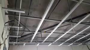 gypsum false ceiling channel pop ceiling contractor