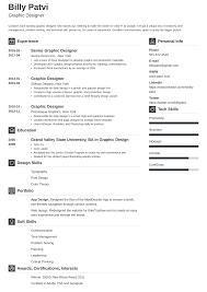 Freelance Graphic Designer Resume Pdf Graphic Designer Resume Template Guide 20 Examples