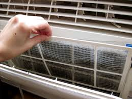 air conditioning filters. how to replace an air filter in ac unit? conditioning filters t