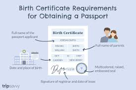 How To Make A Birth Certificate Birth Certificate Requirements For Us Passports