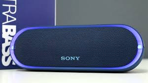 Sony Srs Xb20 Change Light Sony Srs Xb20 Extra Bass Wireless Speaker Review