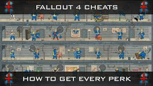 Fallout 4 Level Up Chart Fallout 4 Cheats How To Level Up Get Every Perk Within 1hr