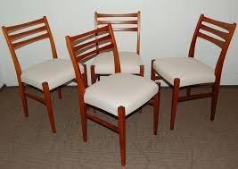 dining room chairs mid century modern. set of four swedish mid-century modern teak dining chairs 2 room mid century